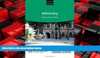 FREE PDF  Advocacy 2008-2009: 2008 Edition (Blackstone Bar Manual)  BOOK ONLINE
