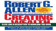 [PDF] Creating Wealth: Retire in Ten Years Using Allen s Seven Principles Popular Collection