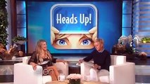 Fergie and I played my Heads Up App! I had no idea she was so good at accents.