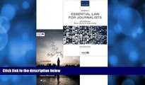 FREE DOWNLOAD  McNae s Essential Law for Journalists and Essential Public Affairs for Journalists