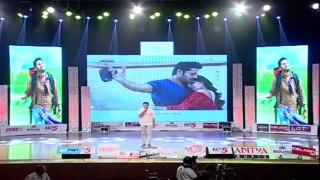 Nithin Imitating Pawan Kalyan Dance In A Aa Audio Launch Nit