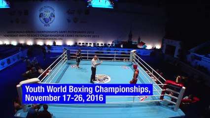 AIBA Youth World Boxing Championships, St Petersburg 2016
