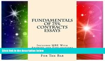 READ FULL  Fundamentals Of 75% Contracts Essays: 9 dollars 99 cents only! Electronic lending