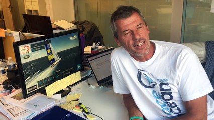 TechnoFirst - #faceocean is visiting @virtualregatta office ... everything is ready for the Big Race ... )) @vendeeglobe