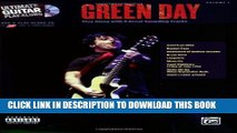 [EBOOK] DOWNLOAD Green Day - Ultimate Guitar Play-Along Guitar Tab Songbook (Ultimate Play-Along)