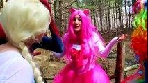 Anna Loses Her Hair! W_ Spiderman, Frozen Elsa, My Little Pony vs Joker, Mermaids, Hulk & Iron Man