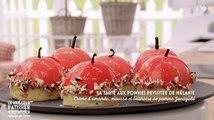 Meilleur pâtissier : une revisite originale de la tarte aux pommes ! - ZAPPING CUISINE DU 18/10/2016