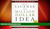 Big Deals  How to License Your Million Dollar Idea: Cash In On Your Inventions, New Product Ideas,