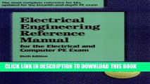 [DOWNLOAD] PDF Electrical Engineering Reference Manual for the Electrical and Computer PE Exam,