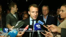 """Macron lance une pique à ceux qui """"font de la laïcité une arme de combat contre l'islam"""""""