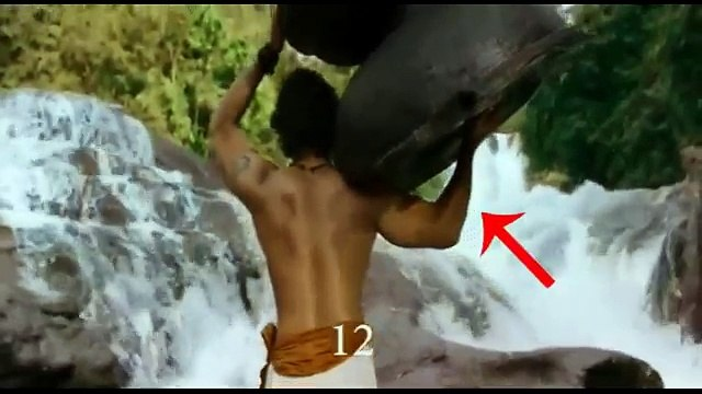Bahubali movie mistakes | Too Much Wrong with Bahubali
