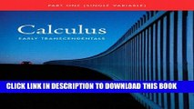[DOWNLOAD] PDF Single Variable Calculus: Early Transcendentals (Briggs/Cochran Calculus) New BEST