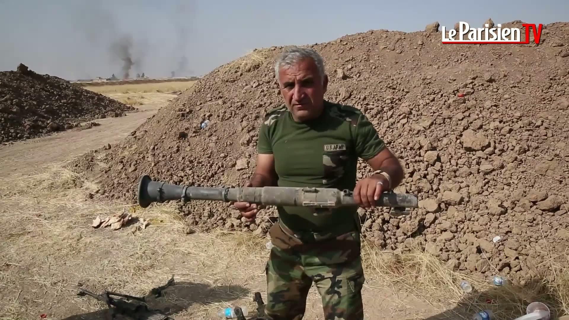 Sur le front de Mossoul avec les peshmergas