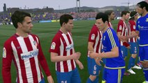 FC Rostov vs Atlético de Madrid Fifa 17 Champions League Gameplay HD Full Match Partido completo