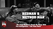 Redman & Method Man - Wu Tang Members Hosed My Room With Fire Extinguisher (247HH Archives)  (247HH Archive)