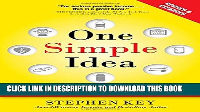[PDF] One Simple Idea, Revised and Expanded Edition: Turn Your Dreams into a Licensing Goldmine