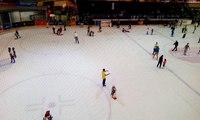 Dubai !! Amazing Ice Ring in Dubai Mall in Dubai City !