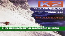 [BOOK] PDF K2: Life and Death on the World s Most Dangerous Mountain New BEST SELLER