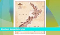 Big Deals  New Zealand Executive [Tubed] (National Geographic Reference Map)  Full Read Best Seller