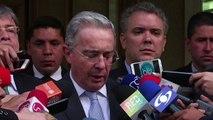 Uribe dispuesto a reunirse con FARC para lograr paz en Colombia
