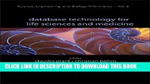 [PDF] Database Technology for Life Sciences and Medicine (Science, Engineering and Biology