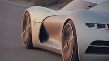Ce concept car électrique s'ouvre par le toit ! Voiture électrique Renault Trezor