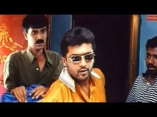 Siva Putrudu Scenes - Surya Do Comedy In Train - Surya, Sangeeta, Laila, Rama Raju
