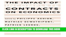 [PDF] The Impact of Incomplete Contracts on Economics Full Online[PDF] The Impact of Incomplete