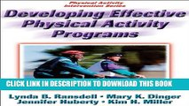 [PDF] Developing Effective Physical Activity Programs (Physical Activity Intervention) Full Online