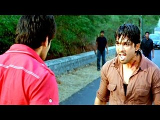Varudu Scene - Sandy Challenges Diwakar To Meet At Marriage Event - Allu Arjun, Arya - HD