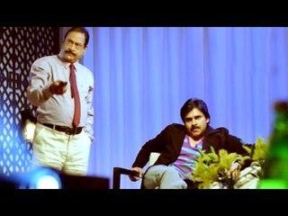 Attarintiki Daredi Comedy Scenes    Pawan Kalyan Observe To Drivers Body Language  - Pawan Kalyan
