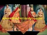 Latest Wedding Bridal Lehenga Choli Designs Party Colleciton 2016