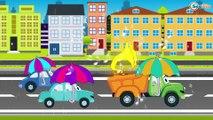 Camion pour bébés - Vidéo Éducative de Voitures - Dessins animés pour enfants - Voiture pour bébés