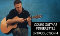 Cours Guitare Fingerstyle Intro 4-4 + Tapping + Tabs