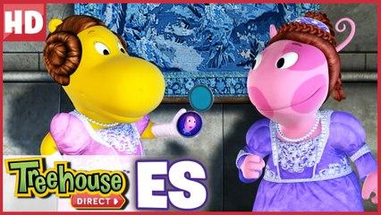Los Backyardigans   Tasha y Uniqua son hermanas princesa!