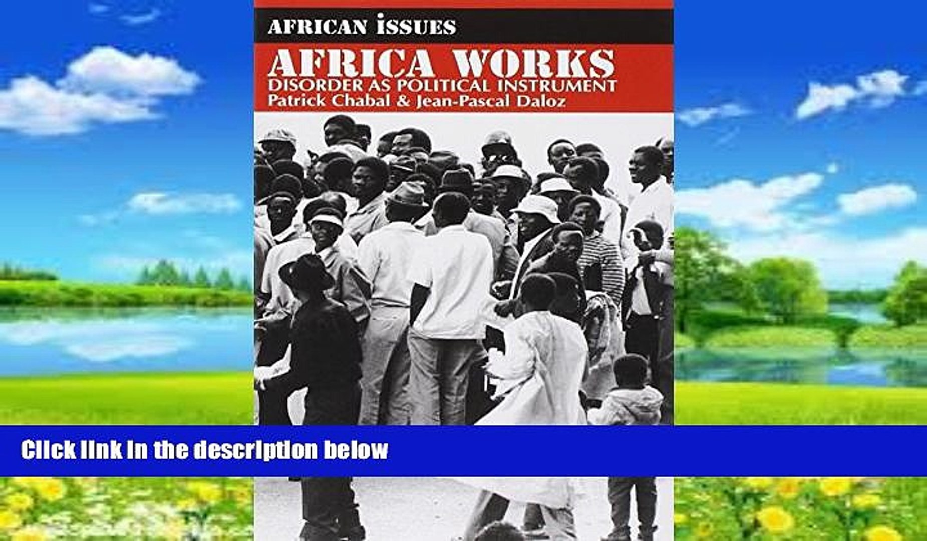 Big Deals  Africa Works: Disorder as Political Instrument (African Issues)  Best Seller Books Best