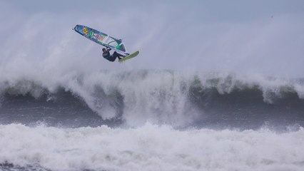 Windsurfing in Extreme Hurricane Conditions