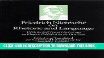 [PDF] Friedrich Nietzsche on Rhetoric and Language Popular Online[PDF] Friedrich Nietzsche on