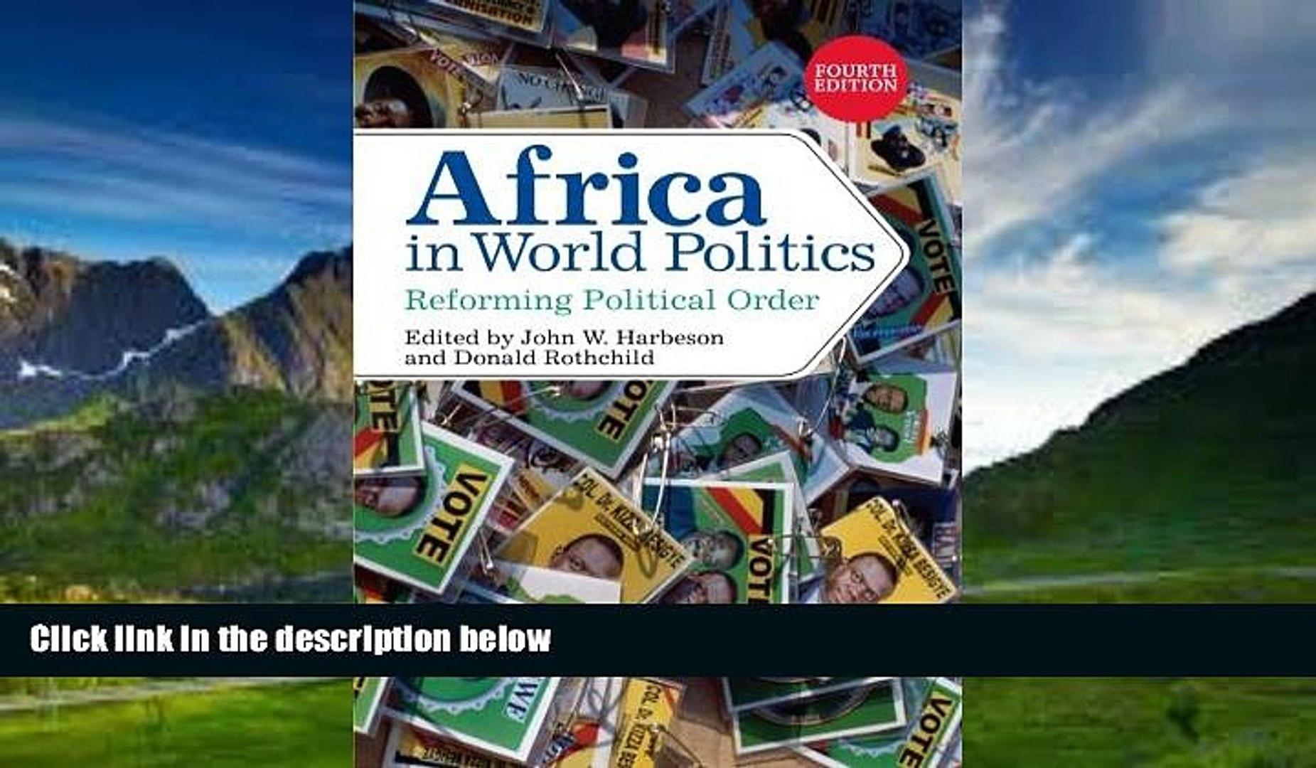 Books to Read  Africa in World Politics: Reforming Political Order  Full Ebooks Best Seller