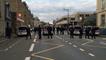 Manifestation sans heurts entre pro et anti-migrants