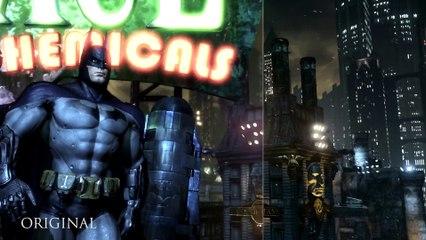Trailer de lancement de Batman : Return To Arkham