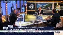 """Talend et Influans: Bertrand Diard estime """"qu'il n'y a plus d'excuse aujourd'hui pour ne pas réussir en créant son entreprise dans la technologie"""" - 19/10"""