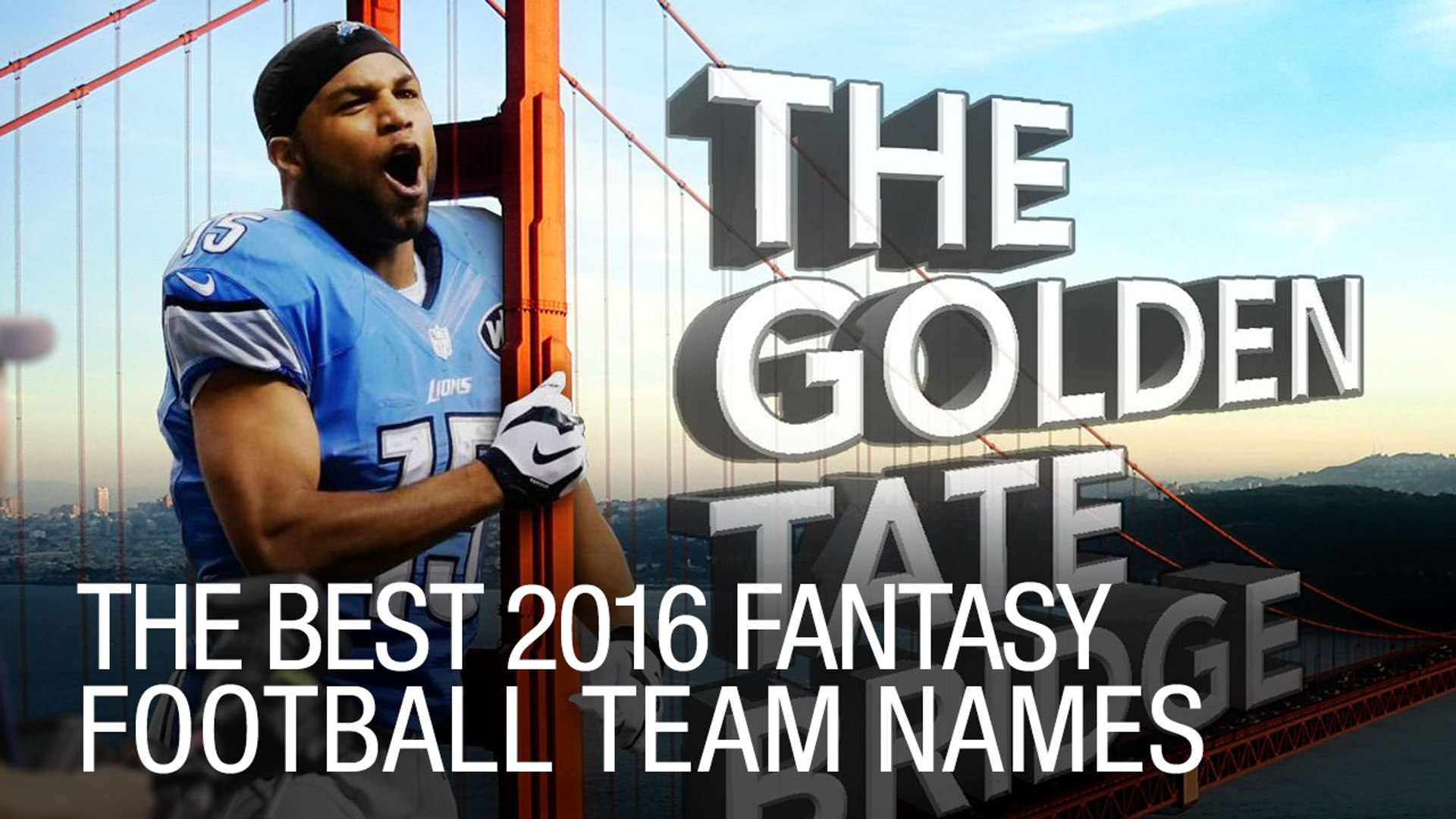 The Best 2016 Fantasy Football Team Names