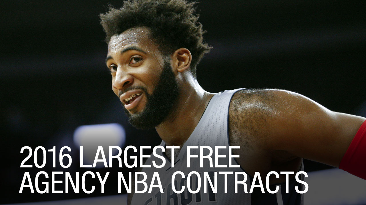 2016 Largest Free Agency NBA Contracts