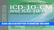 [BOOK] PDF ICD-10-CM and ICD-10-PCS Coding Handbook, without Answers, 2017 Rev. Ed. Collection