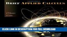 [Read PDF] Brief Applied Calculus Download Online