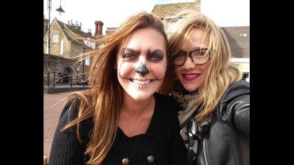Halloween Skull Makeup Vlog   Primp Powder Pout
