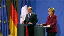 """Merkel y Putin resucitan el """"formato Normandía"""" para Ucrania"""