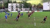 L'essai du bout du lac du Rugby Club d'Annecy le Vieux