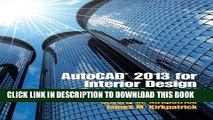 [BOOK] PDF AutoCAD 2013 for Interior Design and Space Planning New BEST SELLER